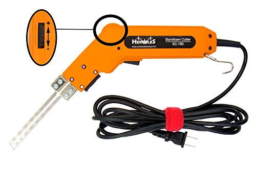Hercules SC-190 Handheld Electric Styrofoam Hot Knife and Accessories (SC-190 Cutter Kit) by Hercules