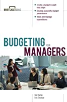 Budgeting for Managers Front Cover