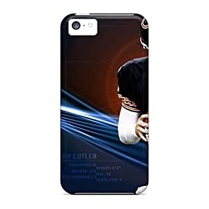For Iphone 5c Premium Tpu Case Cover Chicago Bears Protective Case