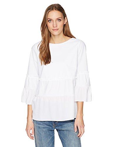 Lyssé Women's Waverly Blouse, White, M