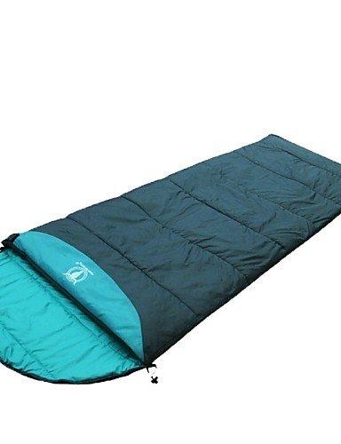 ZQ A puerta gruesa grande Comforatble saco de dormir, verde: Amazon.es: Deportes y aire libre