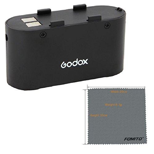 Fomito Godox PB960 Camera Flash Power Backup Battery Pack 4500mAh Black