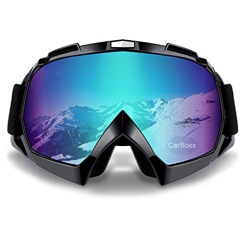 Motorcycle Goggles Anti UV Anti Fog Dustproof ATV Motocross Riding Glasses