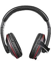 سماعات راس ستيريو للالعاب مع ميكروفون، 3.5 ملم - DL-1200