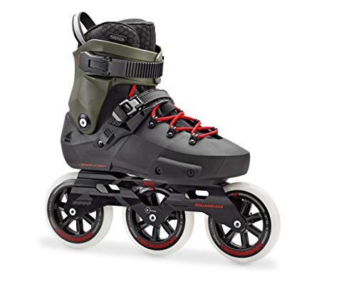 Rollerblade Twister Edge 110 3WD Unisex Adult Fitness Inline...
