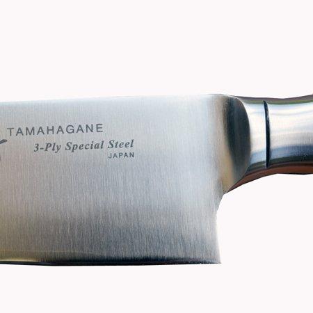 Cuchillo japonés cocinero Tamahagane 210 mm: Amazon.es: Hogar