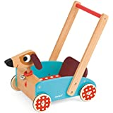 Janod Crazy Doggy - Walking Cart Toy, Mixed