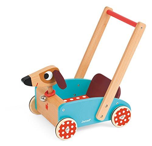 Janod - J05995 - Chariot Crazy Doggy Bois