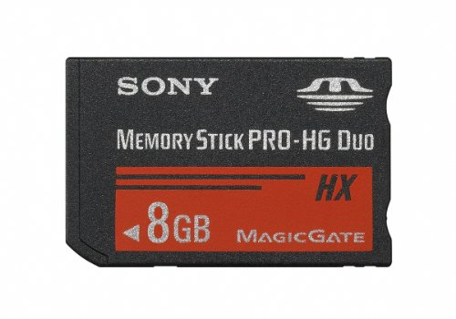 DUO HX High Speed Memory Stick (MSHX8B/M) (Mshx8b Memory Stick)