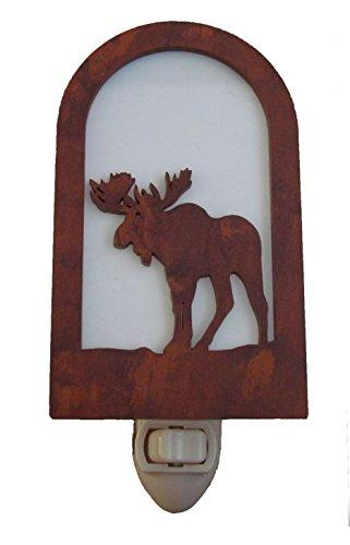 Rustic Moose Nightlight Made in USA