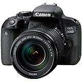 Canon EOS 800D + EF-S 18-135 F/3.5-5.6 IS STM Appareil Photo Reflex numérique 25.8 Mpix Noir
