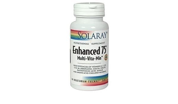 Amazon.com: Solaray Enhanced 75 60 Capsules - CLF-SR-1238 by Solaray: Health & Personal Care