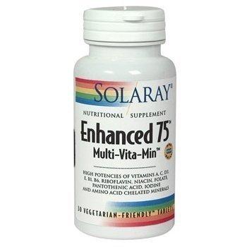 Solaray Enhanced 75 60 Capsules - CLF-SR-1238 by Solaray