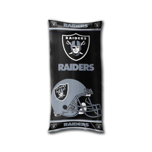 The Northwest Company Officially Licensed NFL Oakland Raiders Folding Body (Oakland Raiders Pillow)