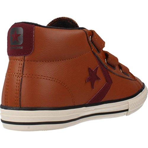 Zapatillas para ni�o, color marr�n , marca CONVERSE, modelo Zapatillas Para Ni�o CONVERSE STAR PLAYER 3V Marr�n marr�n