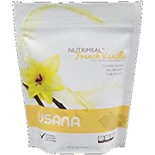USANA Nutrimeal French Vanilla, Protein Drink Mix (9 Servings, 1 lb 3 oz)