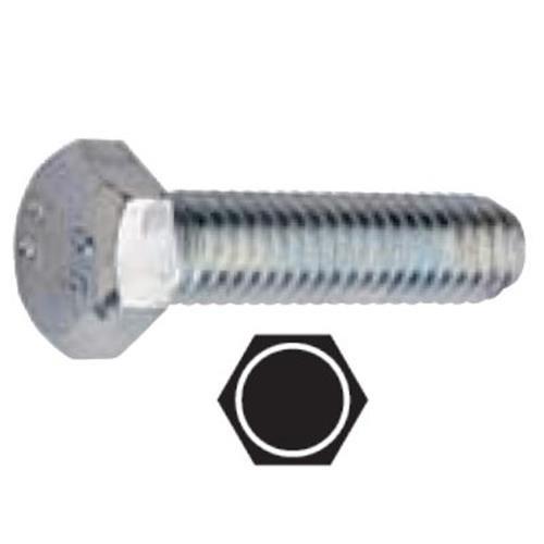 Gfd Tornillo hexagonal m4x20 din933 rosca 8,8 zinc//ado blanco
