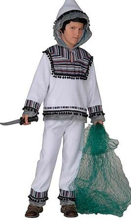 Disfraz de Esquimal Blanco infantil: Amazon.es: Juguetes y juegos