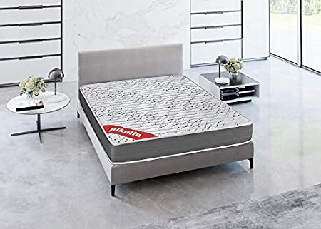 PIKOLIN Colchón viscoelástico Espuma HR 135x190 firmeza Media, Reversible, Alto 22cm - Colchones Sigeo