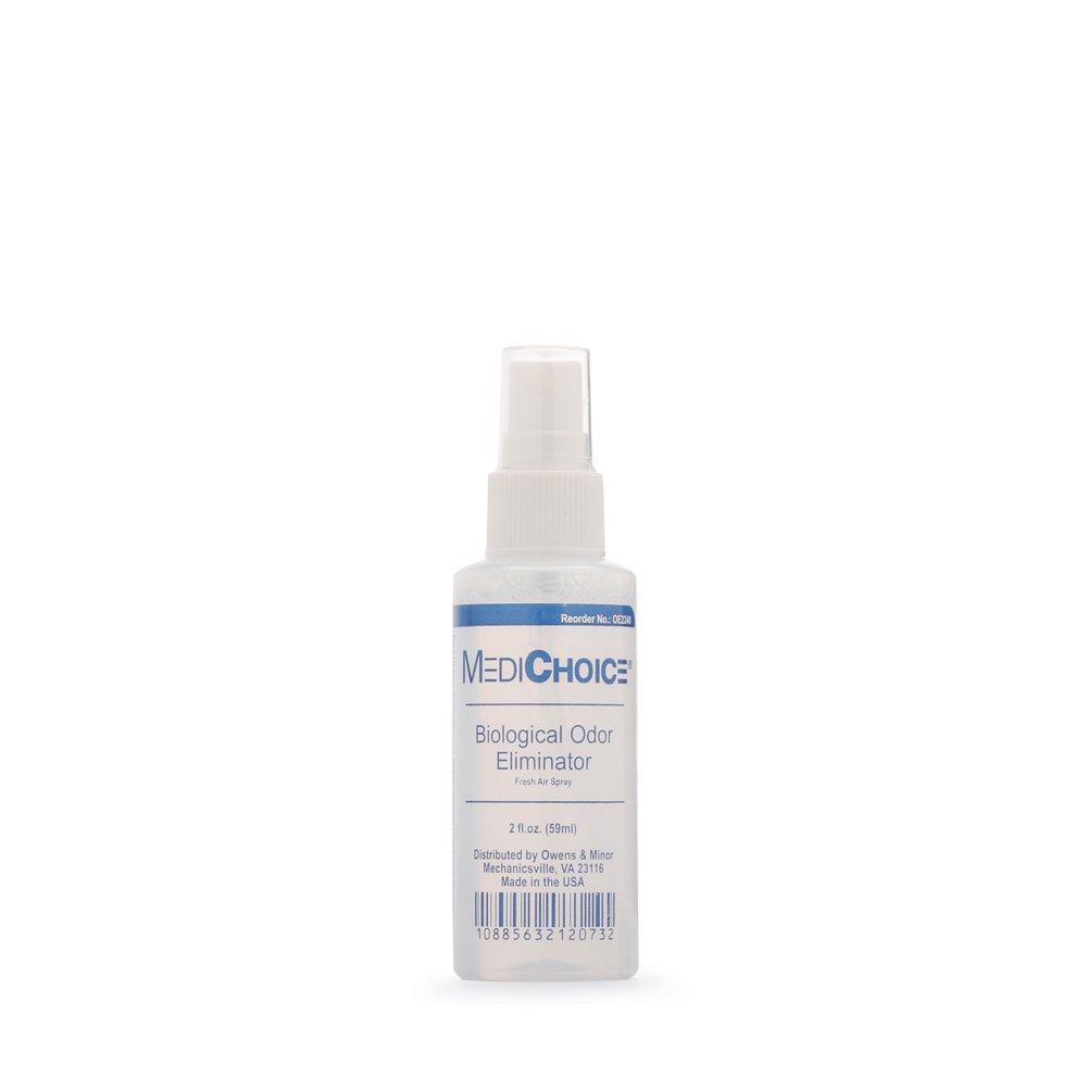 MediChoice Biological Odor Eliminator, Scented, Pump Spray, 2 Ounce, 1314OE2240 (Case of 24)