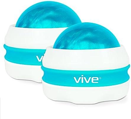 413soyLBNIL._AC_SY400_ amazon com vive massage roller ball (2 pack) self, full body