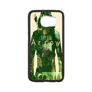 Unique Design -ZE-MIN PHONE CASE For Samsung Galaxy S6 -Green Arrow TV Show Pattern 5