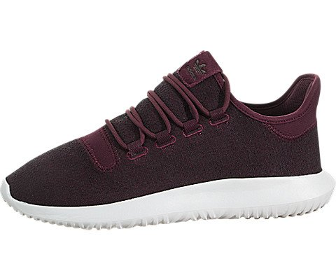 adidas Originals Men's Tubular Shadow Sneaker, Maroon/Vapour Grey/White, 10.5 M (Adidas Mens Slip)