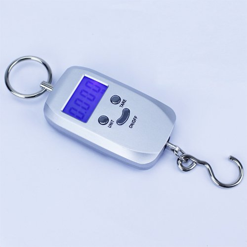 Click Down 40KG Portable Digital Fishing Hook Luggage Scale