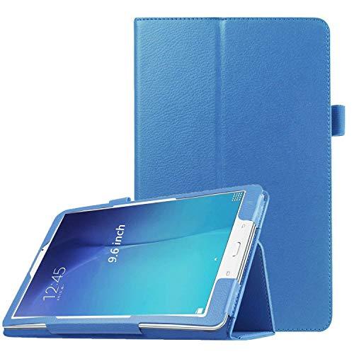 PEYOU Compatible for Tab E 9.6 Case, Slim Smart Folio Stand