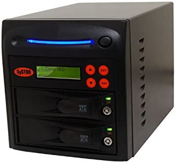 Systor 1 to 8 SATA Hard Disk Drive (HDD/SSD) Rackmount Duplicadora ...