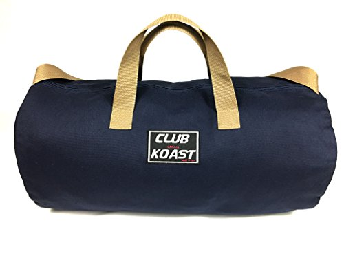 Club Koast Weekender Canvas Duffel Bag. Simple Version for Gym, Sports, Active, Travel, Heavy Duty (Made in USA) For Sale