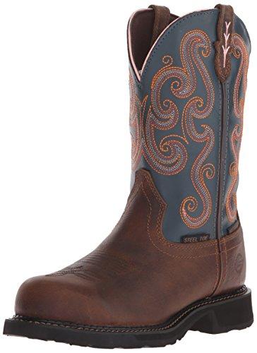 Justin Boots Gypsy WKL9989 Work Boots - Dark Saddle Brown...
