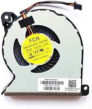 1X  CPU Cooling Fan for HP ProBook 440 G2 450 G2 470 G2 445 455 G1 767433-001