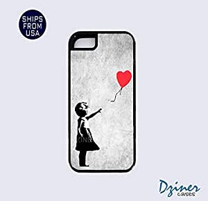 iPhone 5 5s Tough Case - Vintage Banksy Girl iPhone Cover