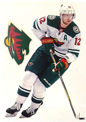 FATHEAD Eric Staal Mini Graphic + Minnesota Wild Logo Official NHL Vinyl Wall Graphics - This Graphic is 7