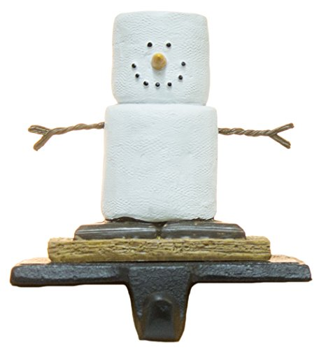 (Christmas Decoration- Cast Iron/ Resin S'mores Stocking Holder by Midwest CBK)