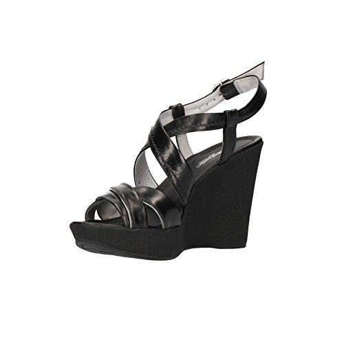 Noir P805670D Femme Giardini Nero Noir Sandales pour qxXUf5Ta