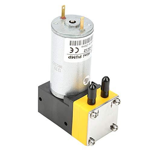 Akozon Diaphragm Pump DC 12V 0.4-1L/min Electric Motor Micro Diaphragm Vacuum Self Priming Water Pressure Diaphragm Pump
