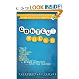 img - for Content Rules: How to Create Killer Blogs, Podcasts, Videos, Ebooks, Webinars (And More) That Engage Customers and Ignite Your Business (New Rules Social Media Series) [Hardcover] book / textbook / text book