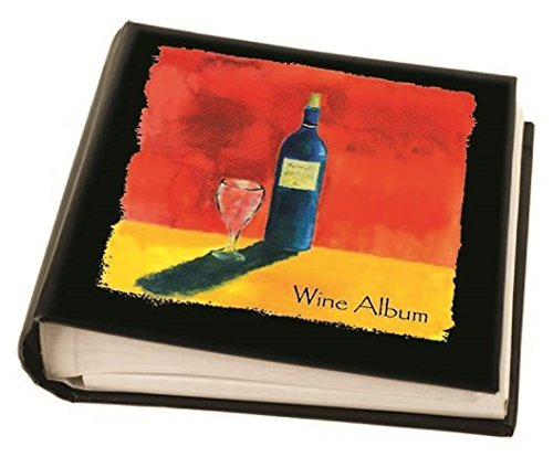 Franmara 6150-BX Deluxe Wine Label Album with 30 Label Removers