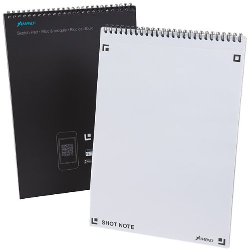 Ampad Shot Note Sketch Pad 9 x 12 Inches, 40 Sheets (22-110)