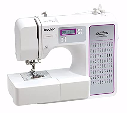 Brother Sewing Machine Computerized CE8080 Special Project Runway Edition