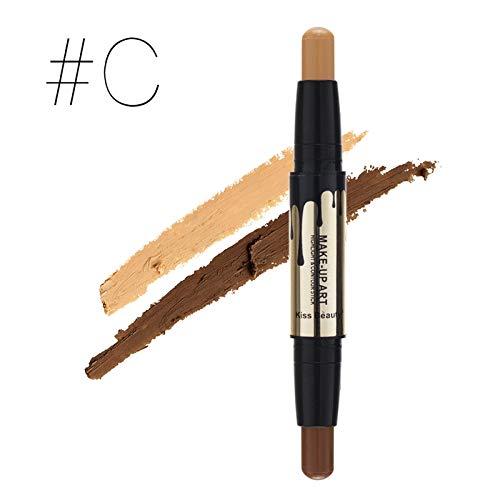 Double Ended Bronzer & Highlighter Sticks Concealer Pen Contour Stick Repair Flawless Cosmetics Makeup Face Cream