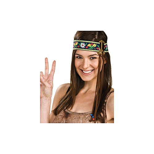 Rubie's Costume Headband with Peace (1960s Peace Sign)