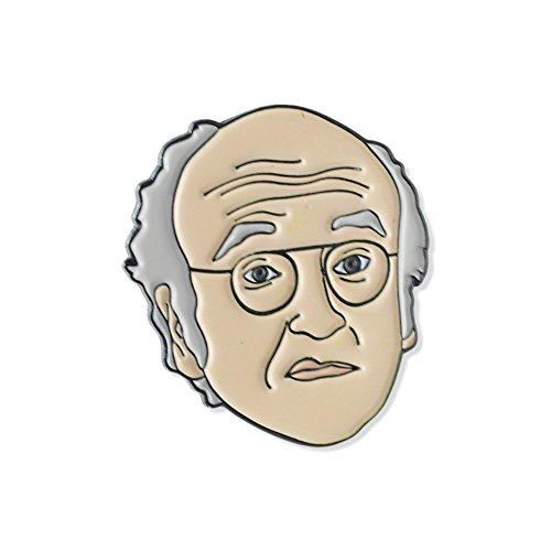Larry David Comedian Celebrity Enamel Lapel Pin– 1 Pin