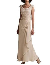 ThaliaDress Women Round Collar Mother of Bride Formal Dress T242LF