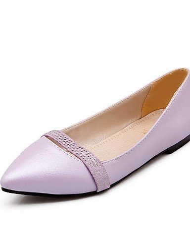 zapatos de piel de sint PDX mujer Y07xOOn