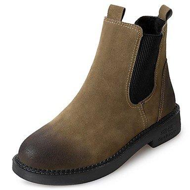 Cuadra Zapatos La Caqui Negro UK6 Redonda Gore RTRY Talón EU39 Caída Cashmere De CN39 Casual For Puntera Botas US8 Botas Moda De Mujer qvTWTFxwUn