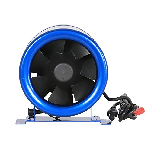 (Hyper Fan Digital Mixed Flow Fan - 8 Inch | 710 CFM | Energy Efficient Technology, Quiet Operation, Lightweight, Includes the Hyper Fan Speed Controller - ETL Listed)