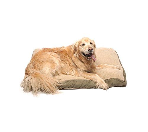 Carolina Pet Company Four Seasons Jamison Pet Bed Sage 42x30x4